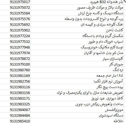 بانک شماره موبایل کرمان مشاغل و کسب و کار دیوار